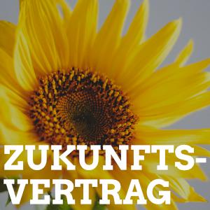 Sonnenblume Zukunftsvertrag