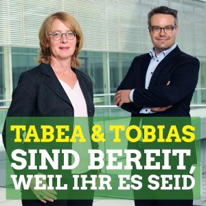 Tabea und Tobias sind bereit weil ihr es seid